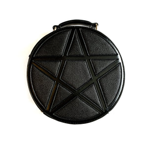 Black Spooky Concha Bag