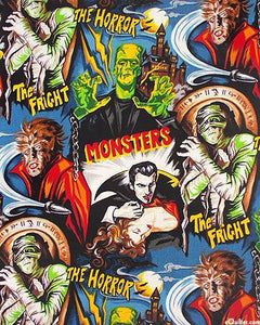 Monster Squad Hand Fan