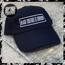 "Load image into Gallery viewer, ""Culture Currency"" Dad Hat"
