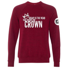 "Load image into Gallery viewer, ""Crown"" Crewneck Sweatshirt"