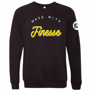 """Finesse Gold"" Crewneck Sweatshirt"