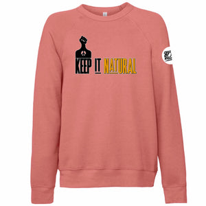 """Natural"" Crewneck Sweatshirt"