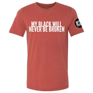 """Never Broken"" Crewneck Tee"
