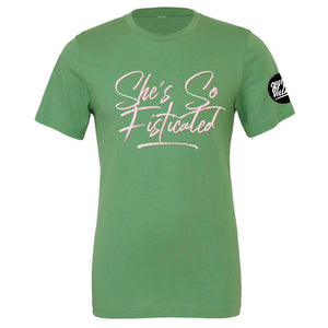"""She's So Fisticated"" Crewneck Tee"