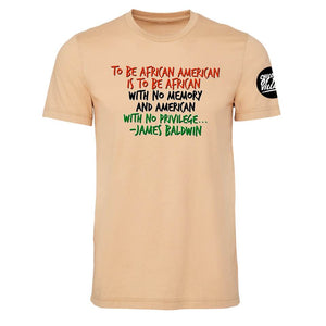 """To Be African American..."" Crewneck Tee"