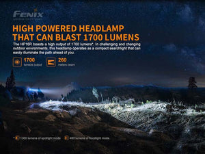 Fenix HP16R Rechargeable Headlamp