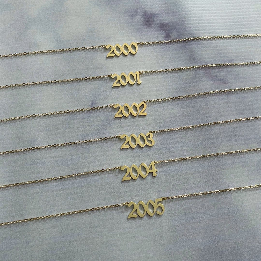 Vintage Year Necklace