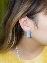 Load image into Gallery viewer, plaid earrings