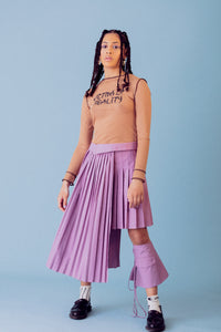 hybrid asymmetric skirt