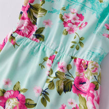Load image into Gallery viewer, Floral Pattern Sling Dresses