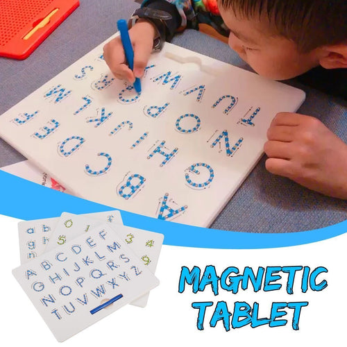 Magnetic Alphabet Learner and Writing Board