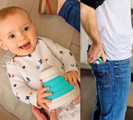Collapsible Baby Bottle