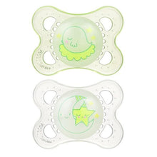 Load image into Gallery viewer, Glow in The Dark Night Pacifiers