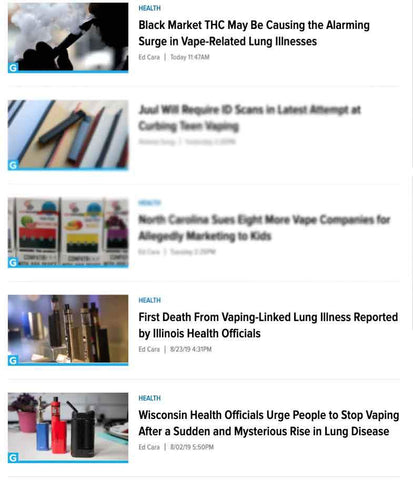 "Gizmodo ""vape"" search results"