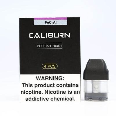 UWell Caliburn Pod - Smokeless - Vape and CBD