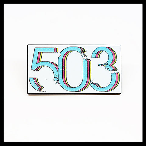 503 Pin (Glow In The Dark)