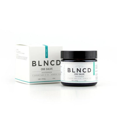 BLNCD Relief Salve - Smokeless - Vape and CBD
