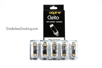 Aspire Cleito Coils - Smokeless - Vape and CBD