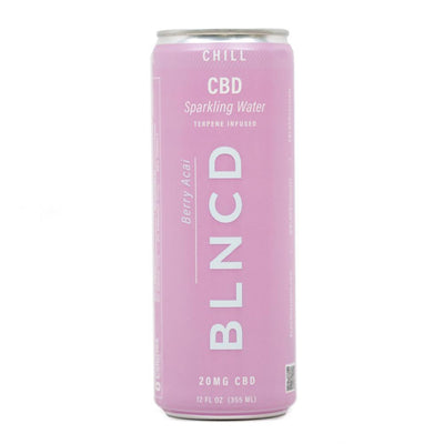 BLNCD Sparkling Water CHILL - Smokeless - Vape and CBD
