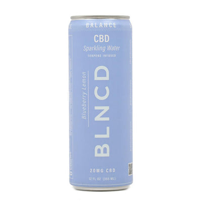 BLNCD Sparkling Water BALANCE - Smokeless - Vape and CBD
