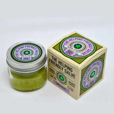 Helping Friendly Original Salve 200mg - Smokeless - Vape and CBD