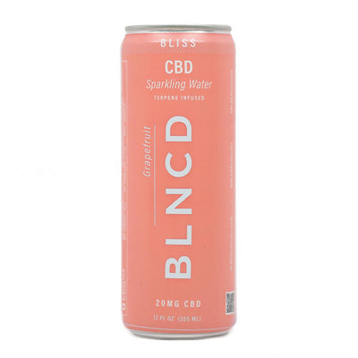 BLNCD Sparkling Water BLISS - Smokeless - Vape and CBD