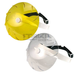 Rain Turbo Visor - Yellow