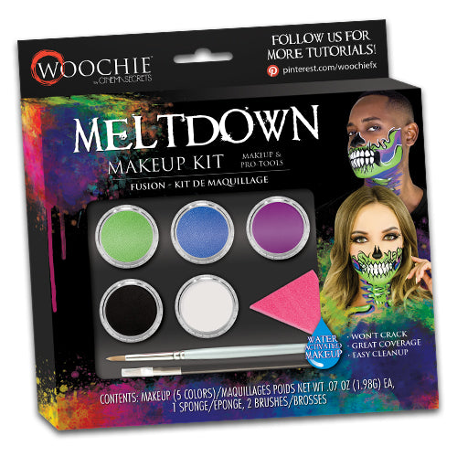 MELTDOWN WATER ACTIVATED MAKEUP KIT