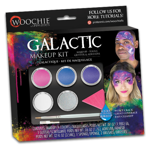 GALACTIC WATER ACTIVATED MAKEUP KIT