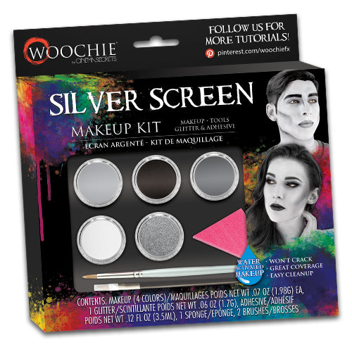 SILVER SCREEN WATER ACTIVATED MAKEUP KIT