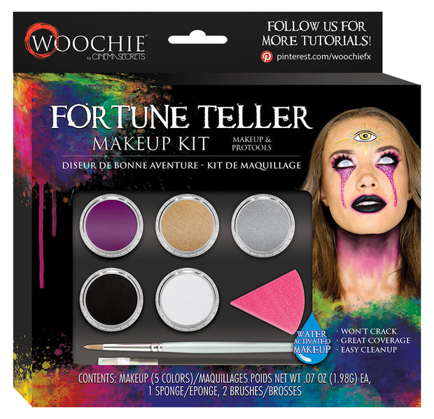 FORTUNE TELLER ACTIVATED MAKEUP KIT