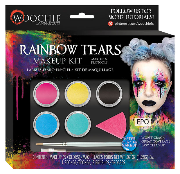 RAINBOW TEARS WATER ACTIVATED MAKEUP KIT