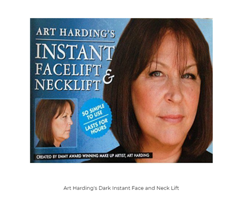 Art Harding's Dark Instant Face and Neck Lift