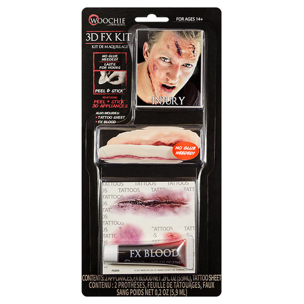 Injury 3D FX Kit (Peel & Stick)