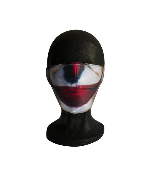 Evil Clown Decorative Face Covering