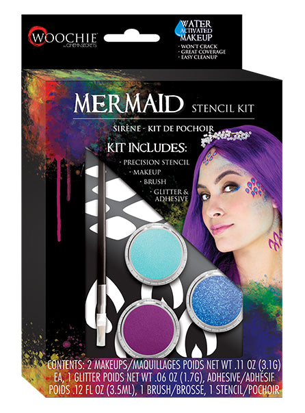MERMAID STENCIL KIT