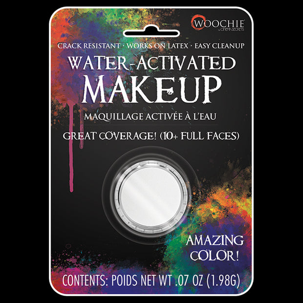 WHITE - WATER ACTIVATED M/U - .1 OZ
