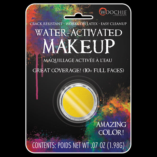 YELLOW - WATER ACTIVATED M/U - .1 OZ