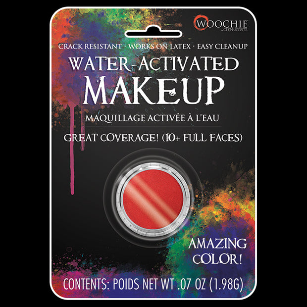 RED - WATER ACTIVATED M/U - .1 OZ