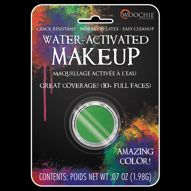 GREEN - WATER ACTIVATED M/U - .1 OZ