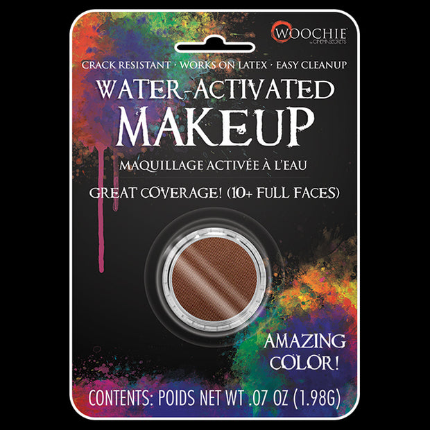 BROWN - WATER ACTIVATED M/U - .1 OZ