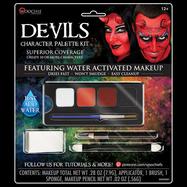 DEVIL CHARACTER WATER ACTIVATED M/U KIT