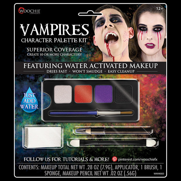 VAMPIRE CHARACTER WATER ACTIVATED M/U KIT