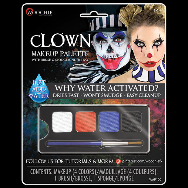 CLOWN - WATER ACTIVATED M/U PALETTE