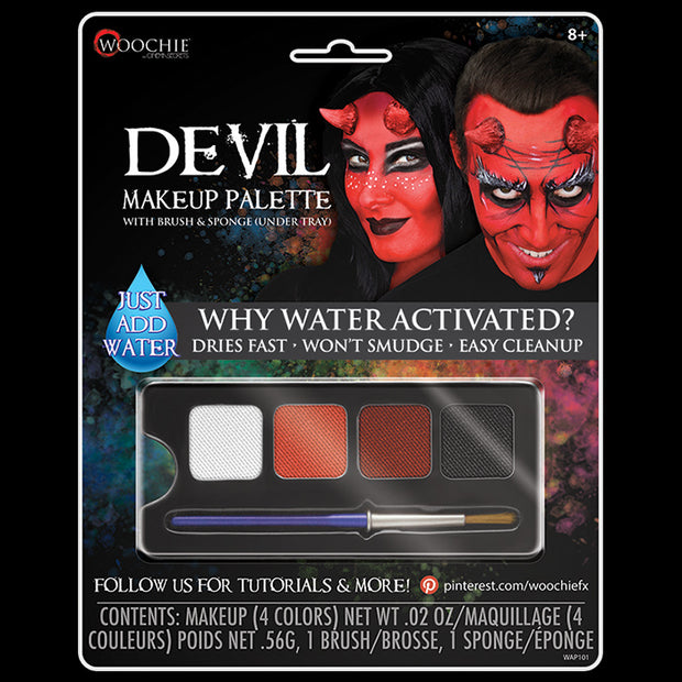 DEVIL(FEMALE) - WATER ACTIVATED M/U PALETTE
