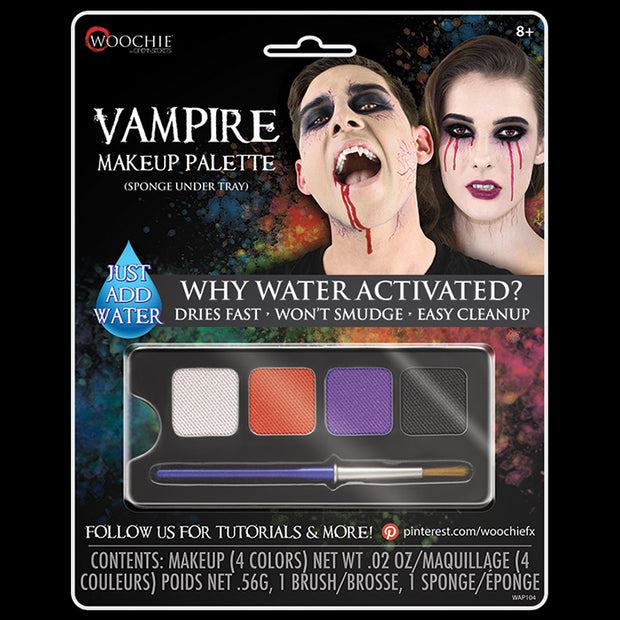VAMPIRE (FEMALE) - WATER ACTIVATED M/U PALETTE