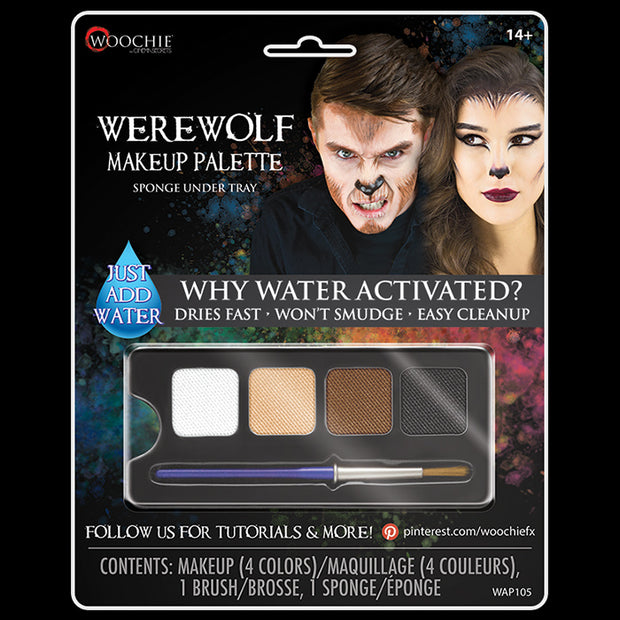 WEREWOLF - WATER ACTIVATED M/U PALETTE