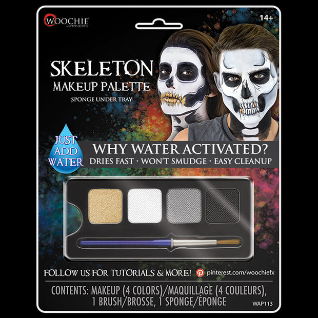 SKELETON - WATER ACTIVATED M/U PALETTE