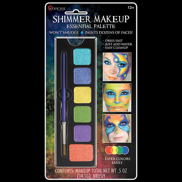 ESSENTIAL - WATER ACTIVATED M/U SHIMMER PALETTE