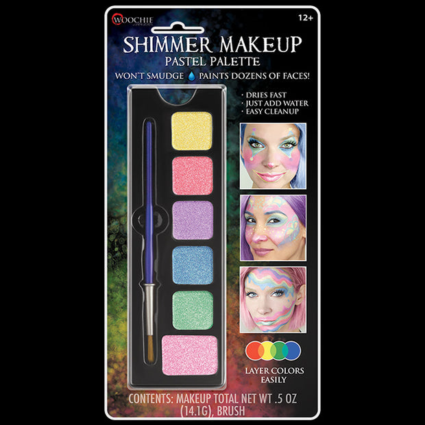 PASTEL - WATER ACTIVATED M/U SHIMMER PALETTE